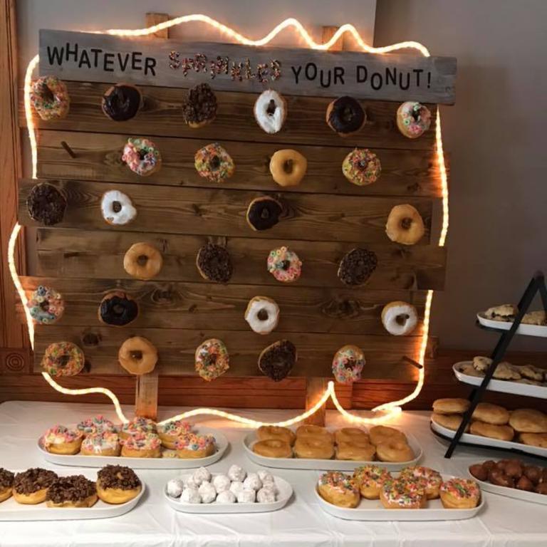 dubuque donut wall rental