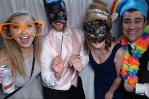 strawberry point photo booth