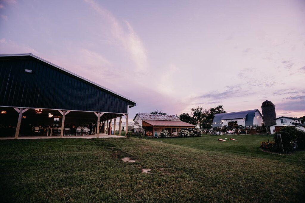 garden valley gatherings wisconsin barn wedding venue