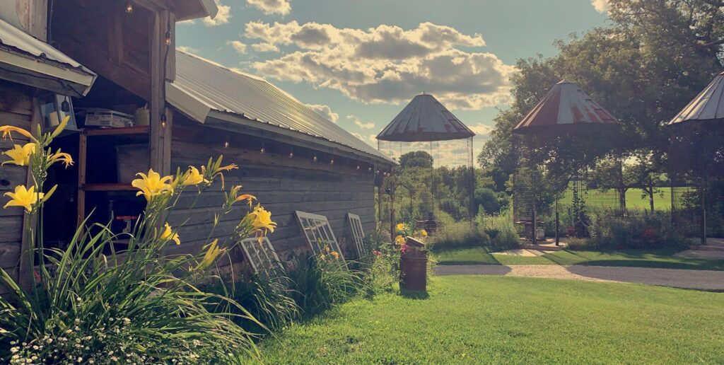 orchard valley acres wisconsin barn wedding venue
