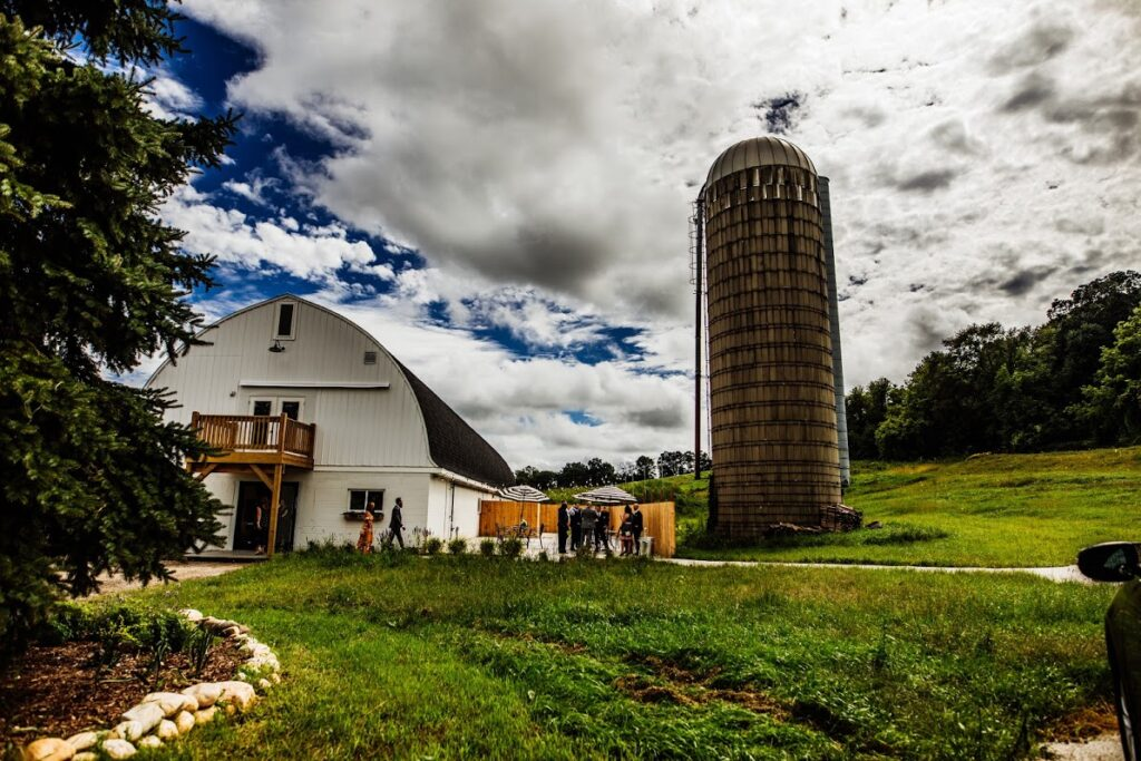 the bowery wisconsin barn wedding venue