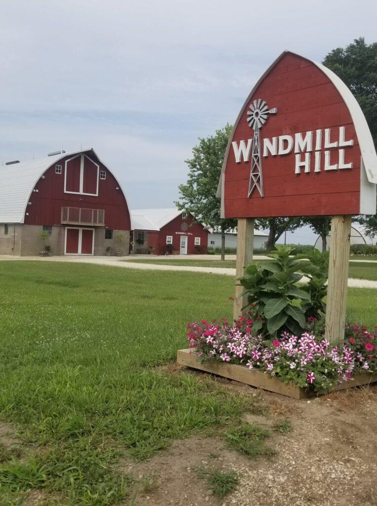 windmill hill barn iowa barn wedding venues