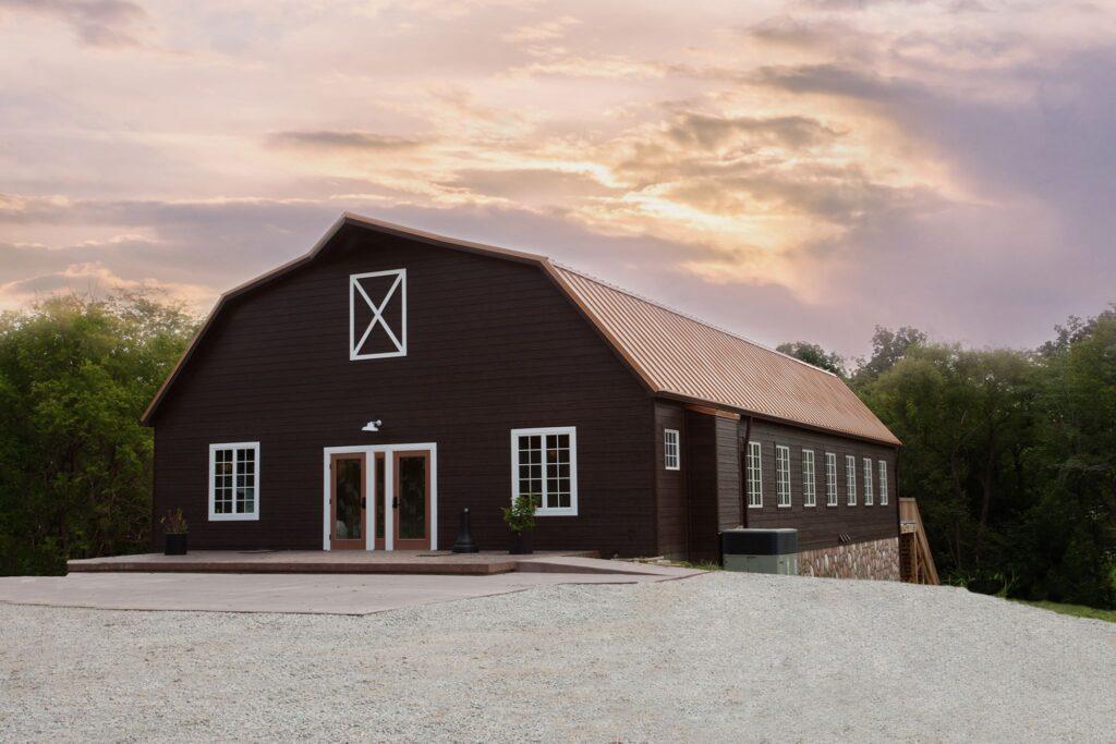 the landing barn
