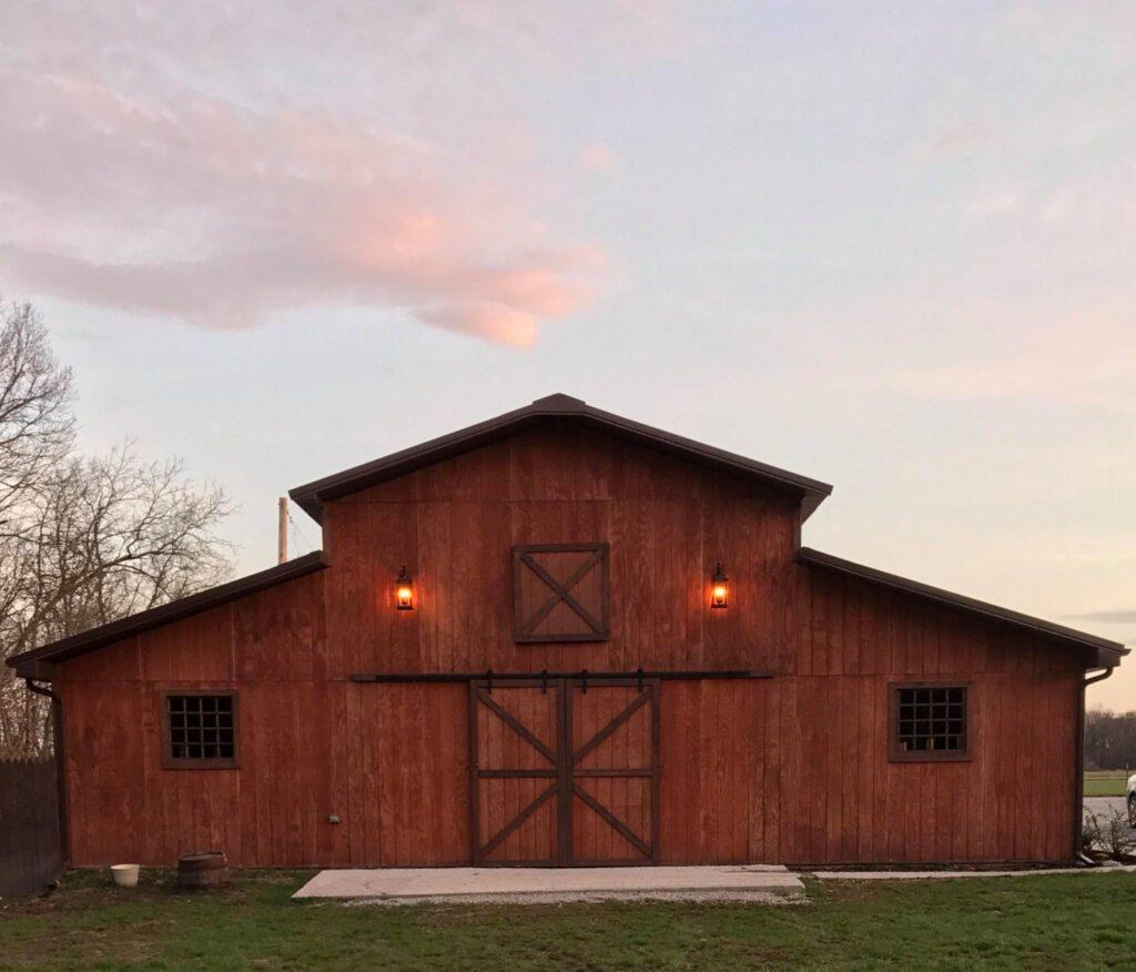 the wedding barn illinois barn wedding venues
