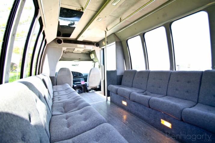cedar falls party bus